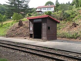 Arzier-Le Muids - La Chèvrerie station in Arzier