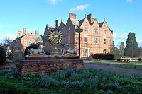 Ashe Hall, Derbyshire, entrance.JPG