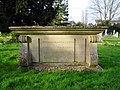 Asquith's tomb, All Saints church, Sutton Courtenay - geograph.org.uk - 362223.jpg