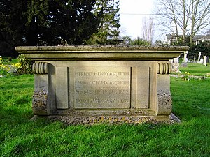 All Saints' Church, Sutton Courtenay - H. H. Asquith's tomb