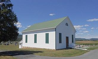 Ayr Township, Fulton County, Pennsylvania - Image: Associate Presby b 1879 Ayr TWP Fulton Co PA