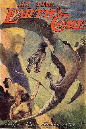 Pellucidar - Image: At the Earths Core 1922 Dusk Jacket