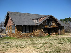National Register of Historic Places listings in Muskogee County, Oklahoma - Image: Ataloa lodge bacone