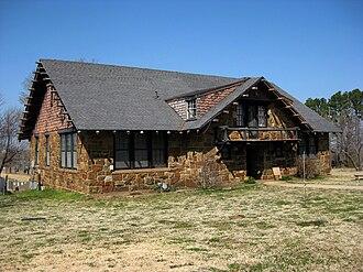 Bacone College - Ataloa Lodge, art museum on campus