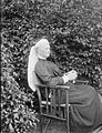 Augusta Caroline Dillon seated in Clonbrock garden (20677875110).jpg