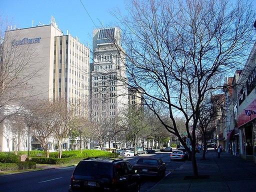 Augusta Georgia Broad Street Lamar Building