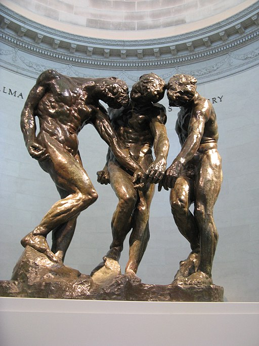 """The Three Shades"" by Auguste Rodin"