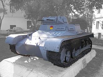 Verdeja - The Panzer I heavily influenced the Verdeja's turret design