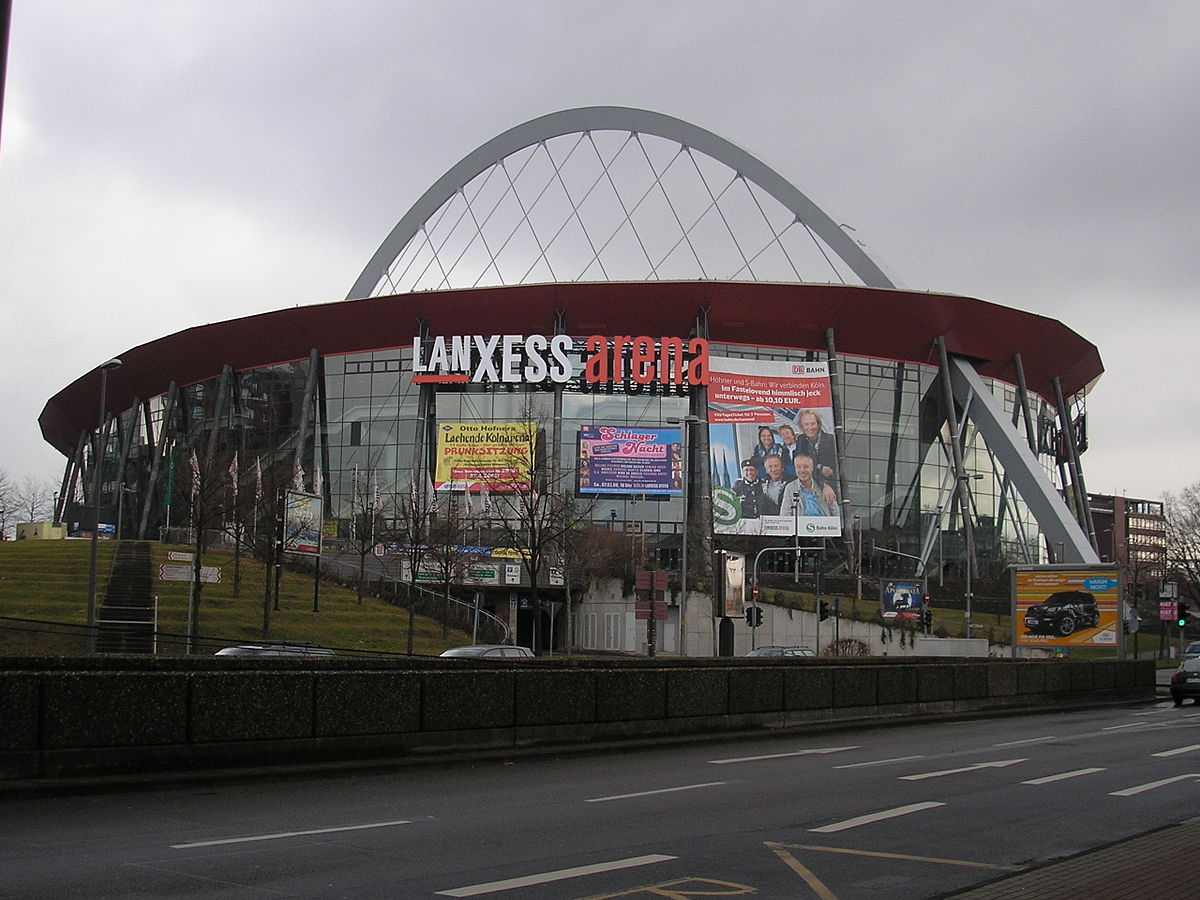 lanxess arena wikipedia den frie encyklop di. Black Bedroom Furniture Sets. Home Design Ideas