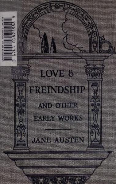 File:Austen - Love & Freindship and other early works.djvu
