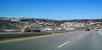 Quebec Autoroute 610 - Autoroute Louis Bilodeau