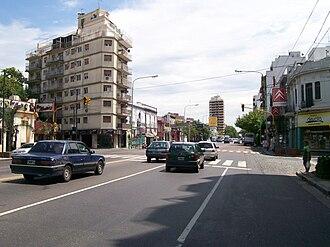 Agronomía - San Martin Avenue, Agronomia's southern limit
