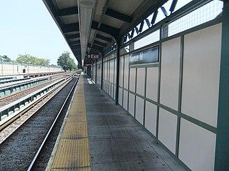 Avenue M (BMT Brighton Line) - Image: Avenue M Platform