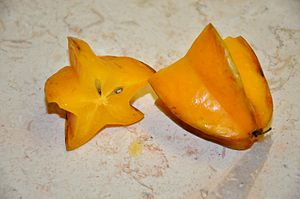 Averrhoa carambola Star Fruit