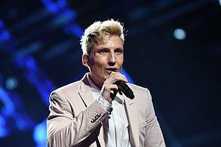 Axel Schylström Swedish singer