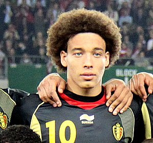 Axel Witsel - Witsel with Belgium in 2011