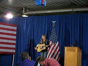 Ayla Brown - Ayla Brown in Marion, Iowa. in 2014