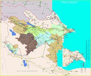 Energy in Azerbaijan - Image: Az xerite