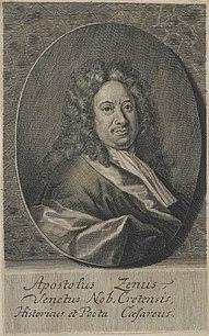 Apostolo Zeno Venetian poet