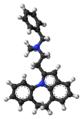 Azipramine molecule ball.png