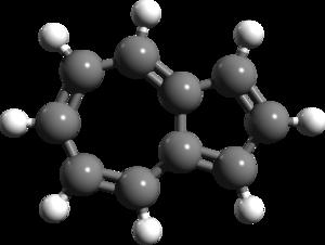 Azulene - Image: Azulene 3d structure