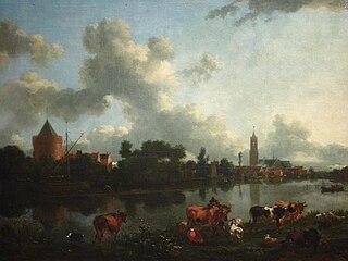 Landscape with Castle Kronenburg