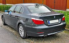 BMW 530i (E60) Facelift 20090615 rear.JPG