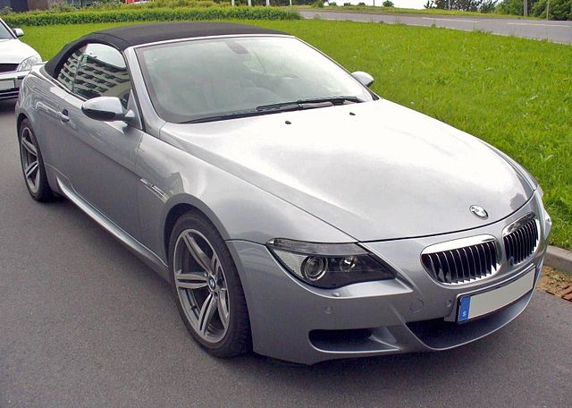 BMW E64 M6 Cabrio Stratusgrau