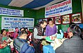 Babies and mothers taking part in Healthy Baby Competition organised by the Directorate of Field Publicity, at the Public Information Campaign, at Mangan, North Sikkim on December 16, 2014.jpg