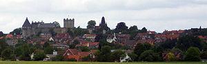 Bad Bentheim - Bad Bentheim with its castle