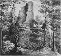 Bad Honnef Löwenburg Lithographie ca. 1840.jpg