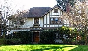 National Register of Historic Places listings in Southeast Portland, Oregon - Image: Bader House Portland Oregon