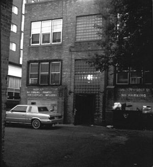 The Badger Herald - First Badger Herald offices at 638 State St., second floor, in 1988