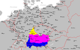 cluster of Upper German dialects