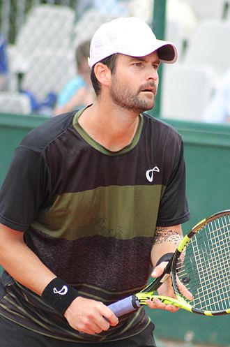 Brian Baker (tennis) - Baker at the 2016 French Open.