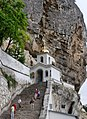 Bakhchysarai Bakhchisaray Cave Monastery IMG 4847 1825.jpg