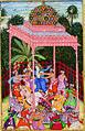 Balarama, Krishna's Brother, Unleashes His Fury upon Rukmi (6124531077).jpg
