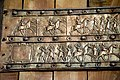 Balawat gate, bronze band, detail, from Tell Balawat, 9th century BCE.jpg