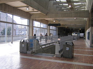 Balboa Park station - The concourse of the Balboa Park Station
