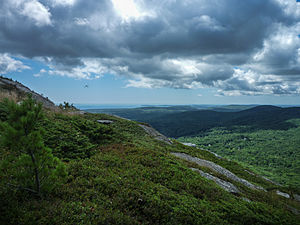 Camden, Maine - The view from Bald Mountain, Camden