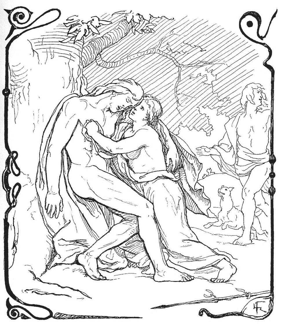 Baldr's Death by Frølich