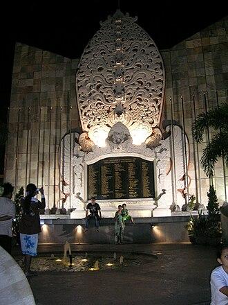 Bali - The Bali bombings monument