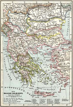 Balkans at 1905
