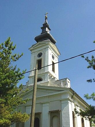 Banatski Brestovac - Image: Banatski Brestovac, Orthodox church