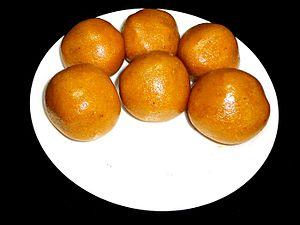 Machilipatnam - Bandar laddu hand moulded