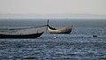 Bangladeshi wooden boats at Saint Martins Island (01).jpg