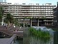 Barbican lakeside from west 2014-06-22.jpg