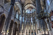 Barcelone - Santa Maria Del Mar - Nef