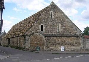 History of Lacock - Tithe barn