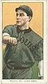 Barney Pelty, St. Louis Browns, baseball card portrait LCCN2008676631.jpg